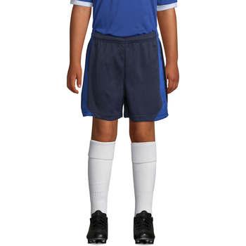 vaatteet Pojat Shortsit / Bermuda-shortsit Sols OLIMPICO KIDS pantalón corto Azul
