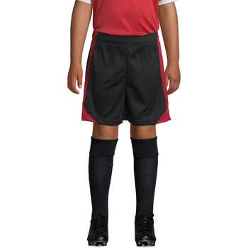 vaatteet Pojat Shortsit / Bermuda-shortsit Sols OLIMPICO KIDS pantalón corto Rojo