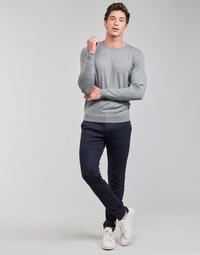 vaatteet Miehet Chino-housut / Porkkanahousut Only & Sons  ONSMARK Laivastonsininen
