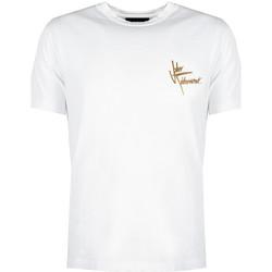 vaatteet Miehet Lyhythihainen t-paita John Richmond  Valkoinen