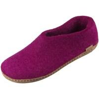 kengät Naiset Tossut Glerups DK Shoe Tummanpunainen