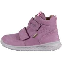 kengät Lapset Korkeavartiset tennarit Superfit Breeze Vaaleanpunaiset