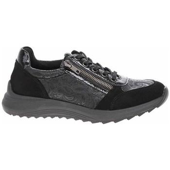 kengät Naiset Matalavartiset tennarit Remonte Dorndorf D570102 Mustat, Grafiitin väriset