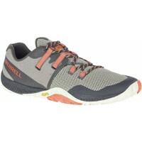 kengät Miehet Juoksukengät / Trail-kengät Merrell Trail Glove 6 Harmaat, Oranssin väriset