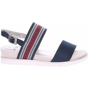 kengät Naiset Sandaalit ja avokkaat Jana 882820826805 Tummansininen