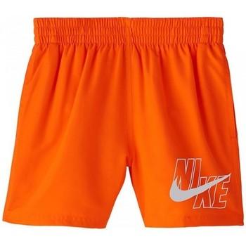 vaatteet Pojat Uima-asut / Uimashortsit Nike BAÑADOR NIÑO  NESSA771 Oranssi