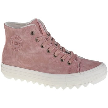 kengät Naiset Bootsit Big Star EE274113 Vaaleanpunaiset