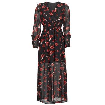 vaatteet Naiset Pitkä mekko Moony Mood PILAF Musta / Punainen