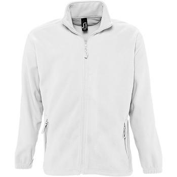 vaatteet Miehet Fleecet Sols 55000 White