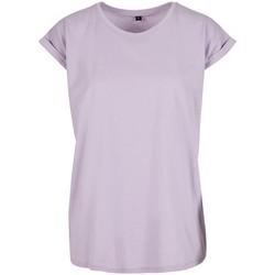 vaatteet Naiset Lyhythihainen t-paita Build Your Brand Extended Lilac