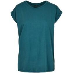 vaatteet Naiset Lyhythihainen t-paita Build Your Brand Extended Teal
