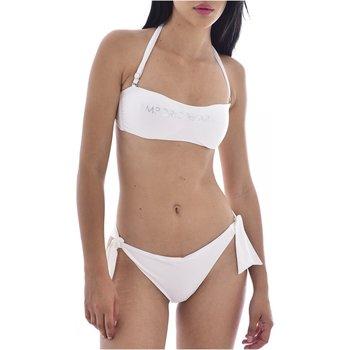 vaatteet Naiset Kaksiosainen uimapuku Armani 262636 1P313 Valkoinen