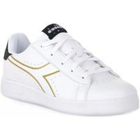 kengät Tytöt Matalavartiset tennarit Diadora 2296 GAME P PS GIRL Bianco
