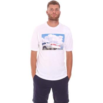 vaatteet Miehet Lyhythihainen t-paita Sseinse TE1825SS Valkoinen