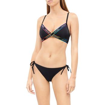 vaatteet Naiset Kaksiosainen uimapuku Calvin Klein Jeans KW0KW01309 Musta