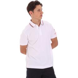 vaatteet Miehet Lyhythihainen poolopaita Invicta 4452241/U Valkoinen