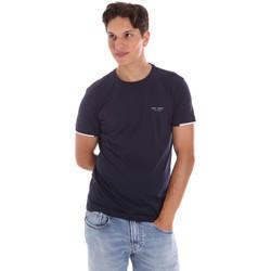 vaatteet Miehet Lyhythihainen t-paita Key Up 2S420 0001 Sininen