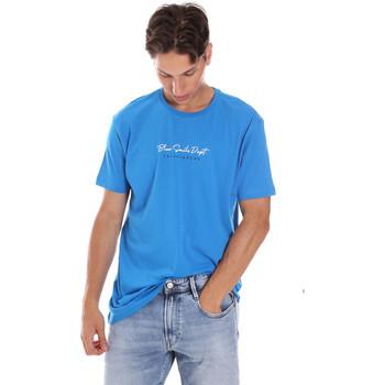vaatteet Miehet Lyhythihainen t-paita Key Up 2S438 0001 Sininen