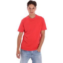 vaatteet Miehet Lyhythihainen t-paita Ciesse Piumini 215CPMT01455 C2410X Punainen