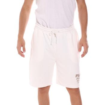 vaatteet Miehet Shortsit / Bermuda-shortsit Fila 689287 Valkoinen