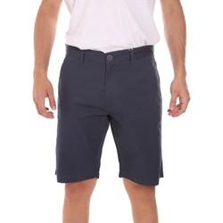vaatteet Miehet Shortsit / Bermuda-shortsit Key Up 2P021 0001 Sininen