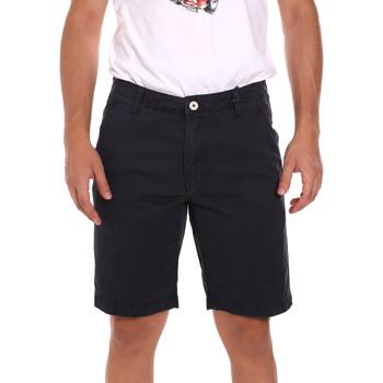 vaatteet Miehet Shortsit / Bermuda-shortsit Gaudi 111GU25043WH Sininen