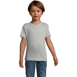 vaatteet Lapset Lyhythihainen t-paita Sols REGENT FIT CAMISETA MANGA CORTA Gris