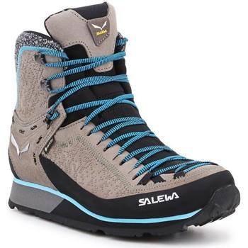 kengät Naiset Vaelluskengät Salewa Ws Mtn Trainer 2 Winter GTX 61373-7950 grey, blue