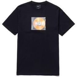 vaatteet Miehet Lyhythihainen t-paita Huf T-shirt mix box logo ss Musta