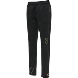 vaatteet Naiset Verryttelyhousut Hummel Pantalon femme  hmlCIMA noir
