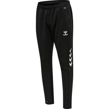 vaatteet Miehet Verryttelyhousut Hummel Pantalon de jogging  hmlCORE noir