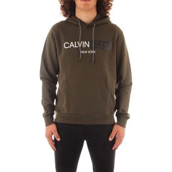 vaatteet Miehet Svetari Calvin Klein Jeans K10K107168 GREEN