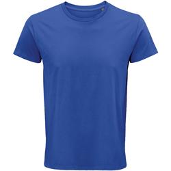 vaatteet Miehet Lyhythihainen t-paita Sols 03582 Royal Blue