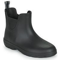 kengät Naiset Kumisaappaat Isotoner 93701 Musta