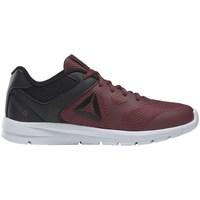 kengät Lapset Juoksukengät / Trail-kengät Reebok Sport Rush Runner Tummanpunainen, Grafiitin väriset