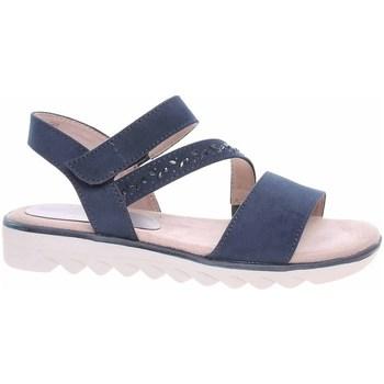 kengät Naiset Sandaalit ja avokkaat Jana 882866126805 Tummansininen