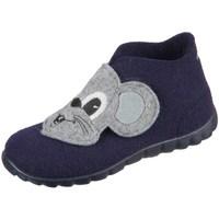 kengät Pojat Vauvan tossut Superfit Happy Harmaat, Tummansininen