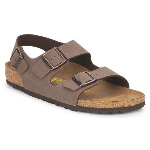 kengät Miehet Sandaalit ja avokkaat Birkenstock MILANO Ruskea