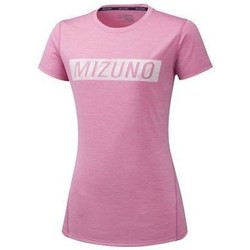 vaatteet Naiset Lyhythihainen t-paita Mizuno Impulse Core Tee Vaaleanpunaiset