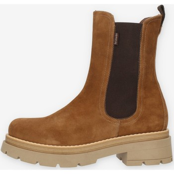 kengät Naiset Bootsit NeroGiardini I114320D Beige