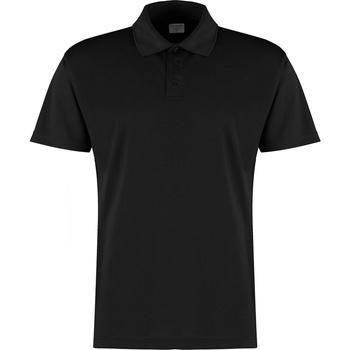 vaatteet Miehet Lyhythihainen poolopaita Kustom Kit KK455 Black