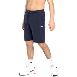 vaatteet Miehet Shortsit / Bermuda-shortsit Fila 688552 Sininen