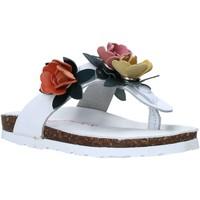 kengät Lapset Varvassandaalit Bionatura 22B 1009 Valkoinen