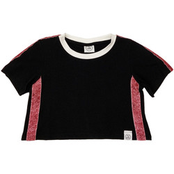 vaatteet Lapset Lyhythihainen t-paita Naturino 6000719 01 Musta