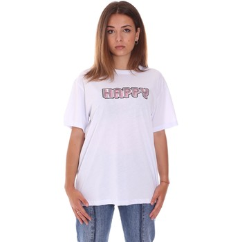 vaatteet Naiset Lyhythihainen t-paita Naturino 6001026 01 Valkoinen