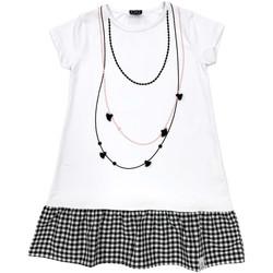 vaatteet Tytöt Lyhyt mekko Naturino 6000724 01 Valkoinen