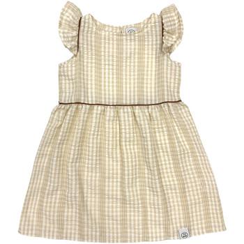 vaatteet Tytöt Lyhyt mekko Naturino 6001014 01 Beige