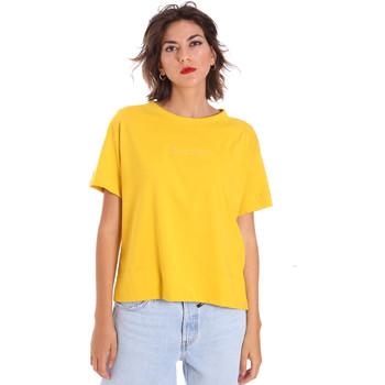 vaatteet Naiset Lyhythihainen t-paita Invicta 4451248/D Keltainen