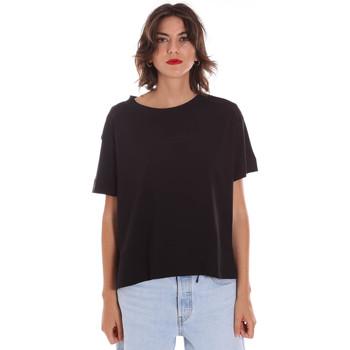 vaatteet Naiset Lyhythihainen t-paita Invicta 4451248/D Musta