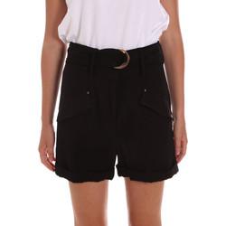 vaatteet Naiset Shortsit / Bermuda-shortsit Gaudi 111BD25033 Musta